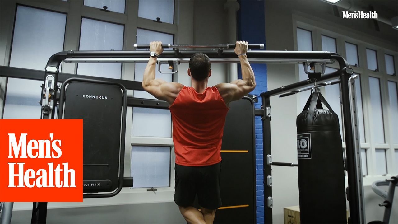 Back Workouts: Get Action Hero Jacked With This Back and Bicep Workout