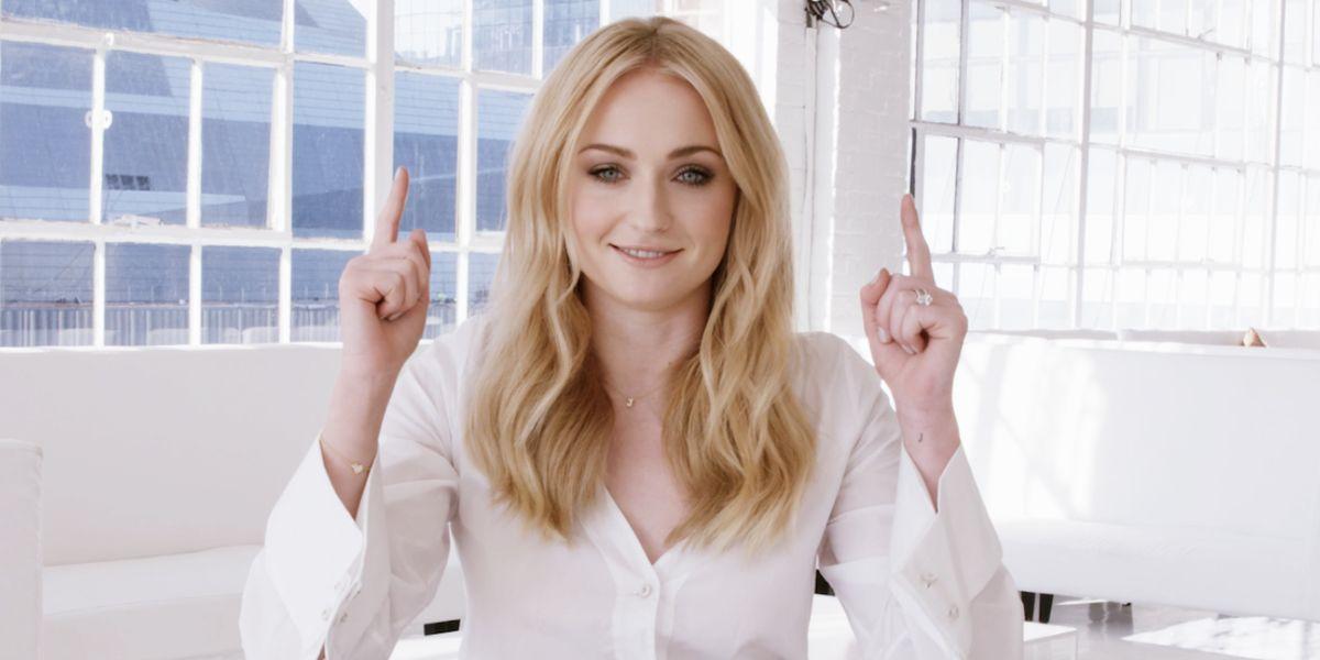 Sophie Turner Game Of Thrones Hair Video Sansa Stark