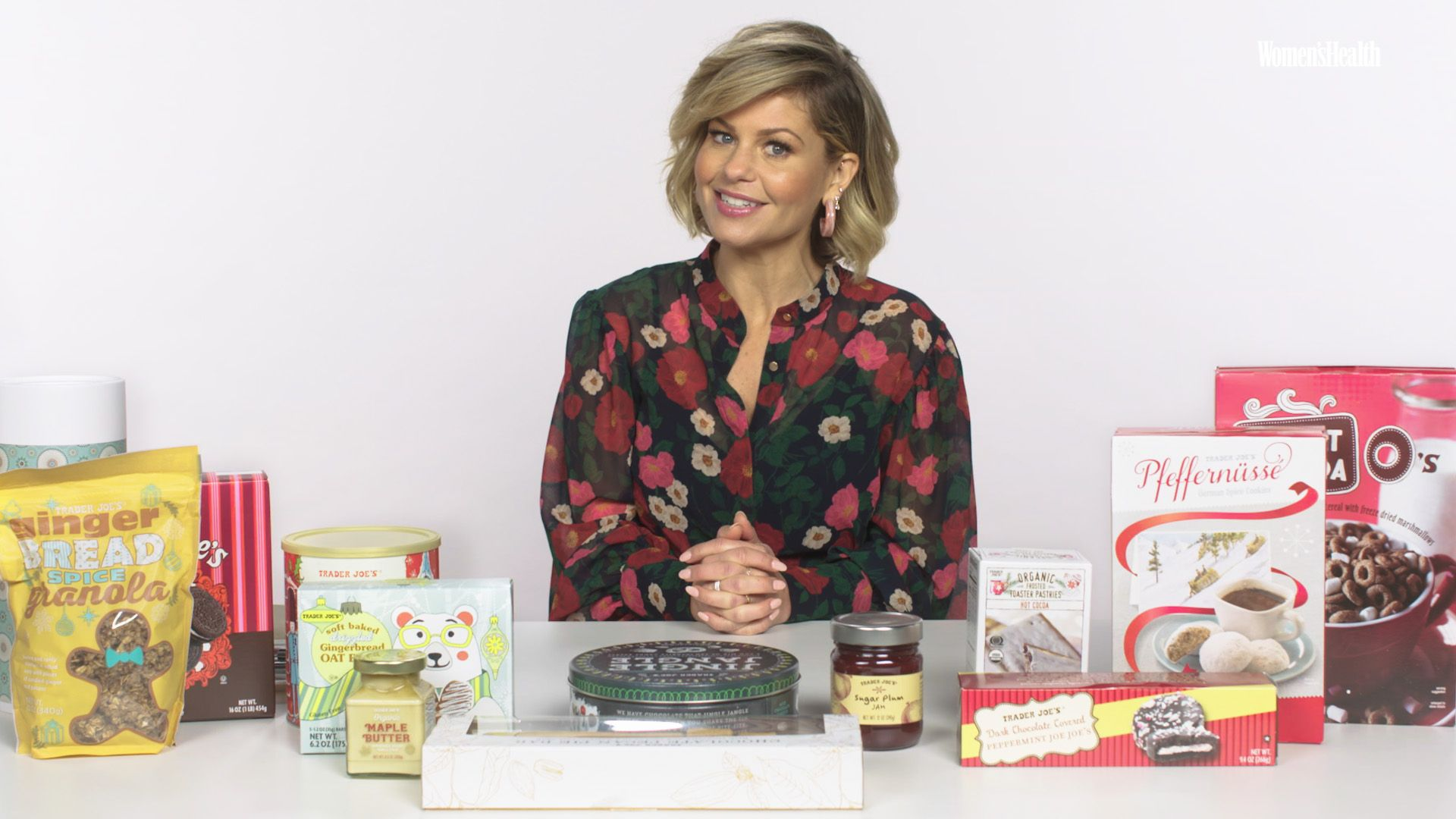 Candace Cameron Bure Is Here For Holiday Treats, But Shes Reading The Nutrition Facts