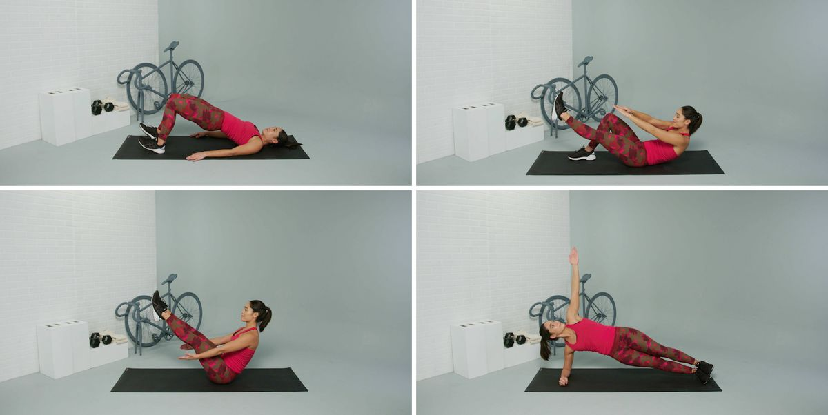 This Quick Core Workout Trains the Most Important Muscles for Cycling