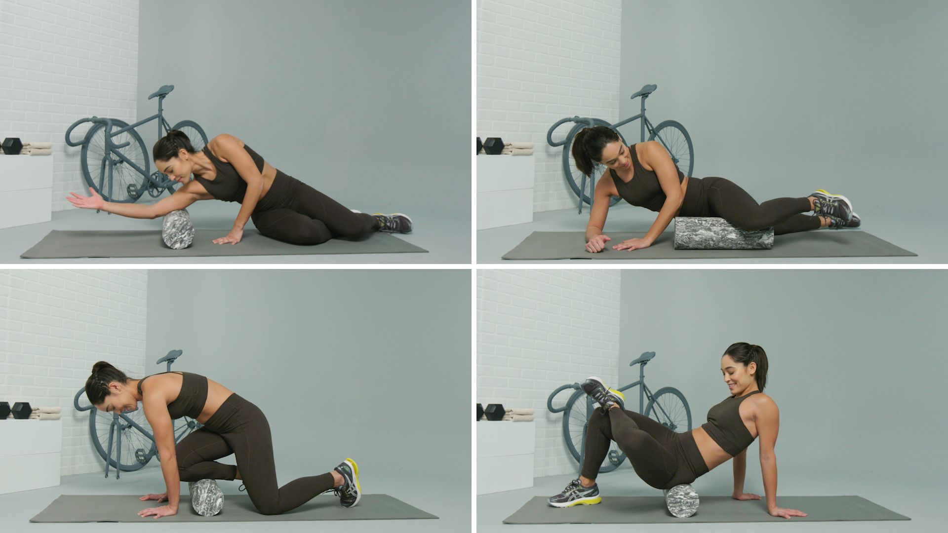 Electric Vibrating Yoga Foam Roller For Feet//Leg //Ankle//Hamstring//Glutes