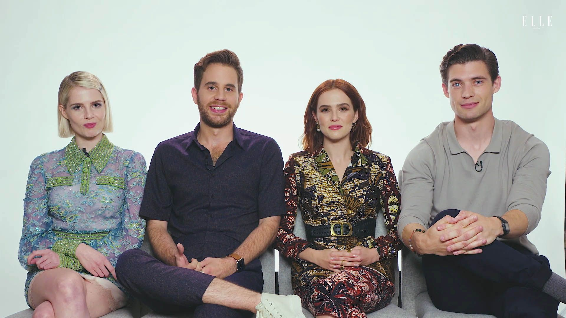 Watch 'The Politician' Cast Insta-Stalk Each Other