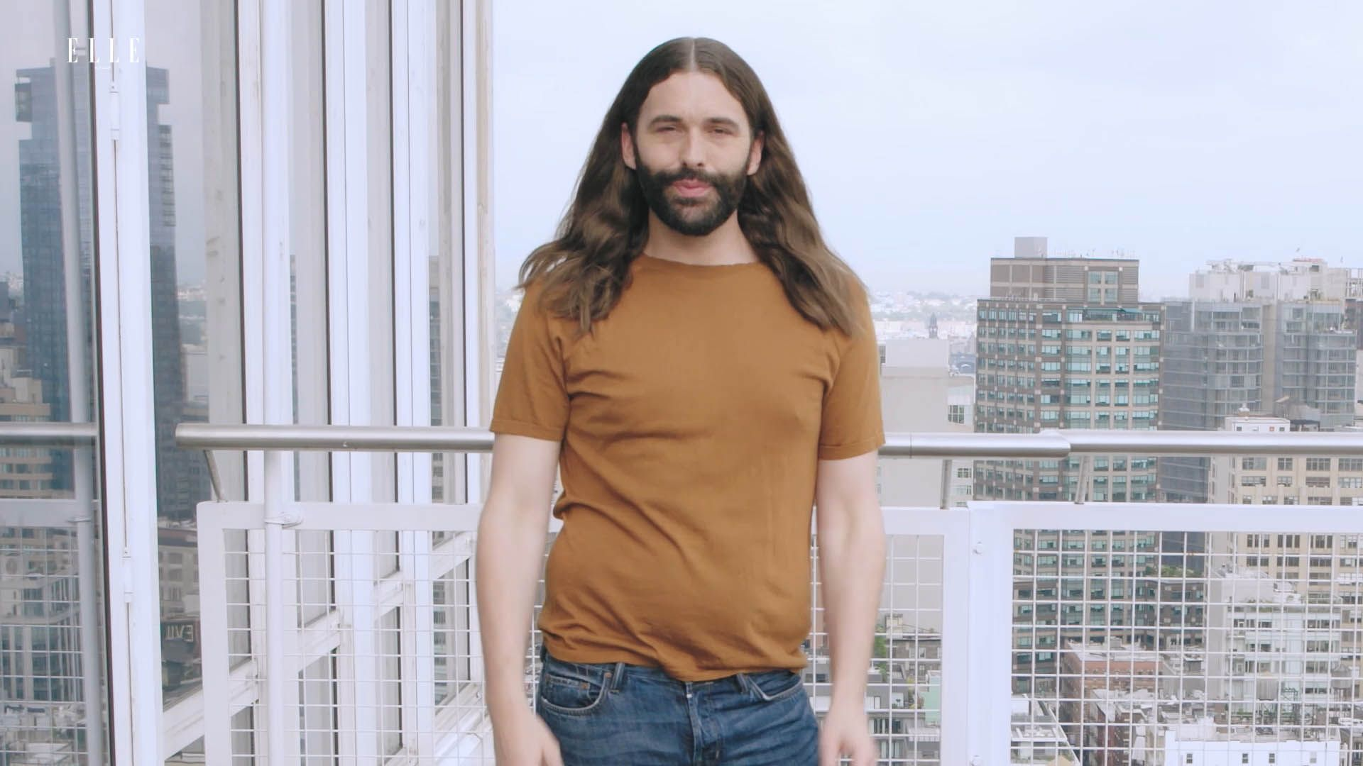 Jonathan Van Ness Starts Each Day With Mantras and Moisturizer