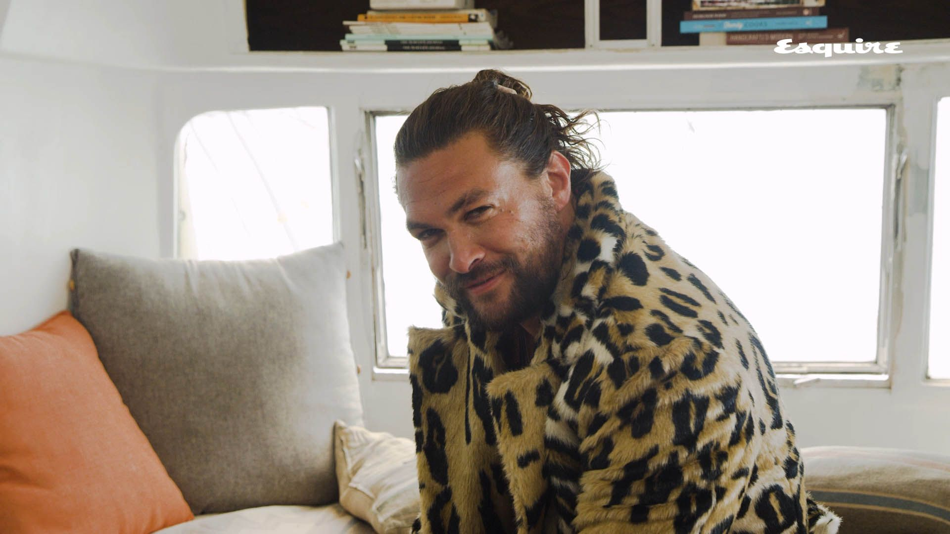 Jason Momoa Loves a Scrunchie—But Can He Actually Put It to Good Use?