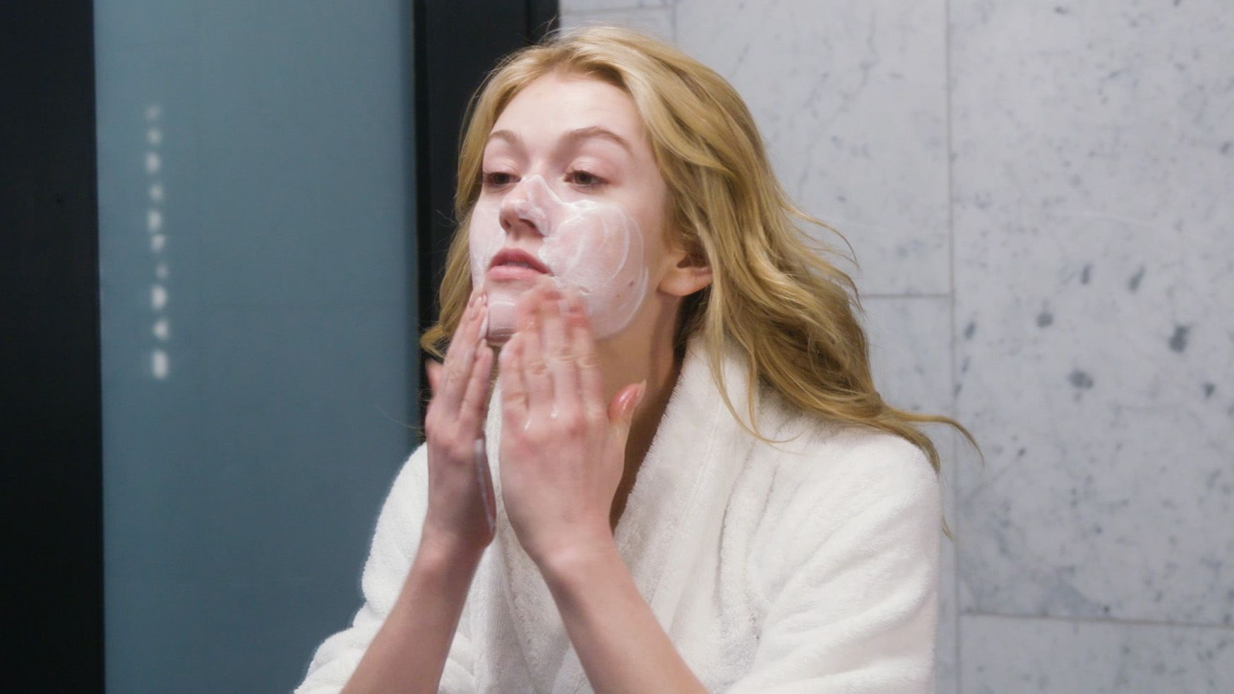 Watch Kat McNamara's Nighttime Beauty Routine