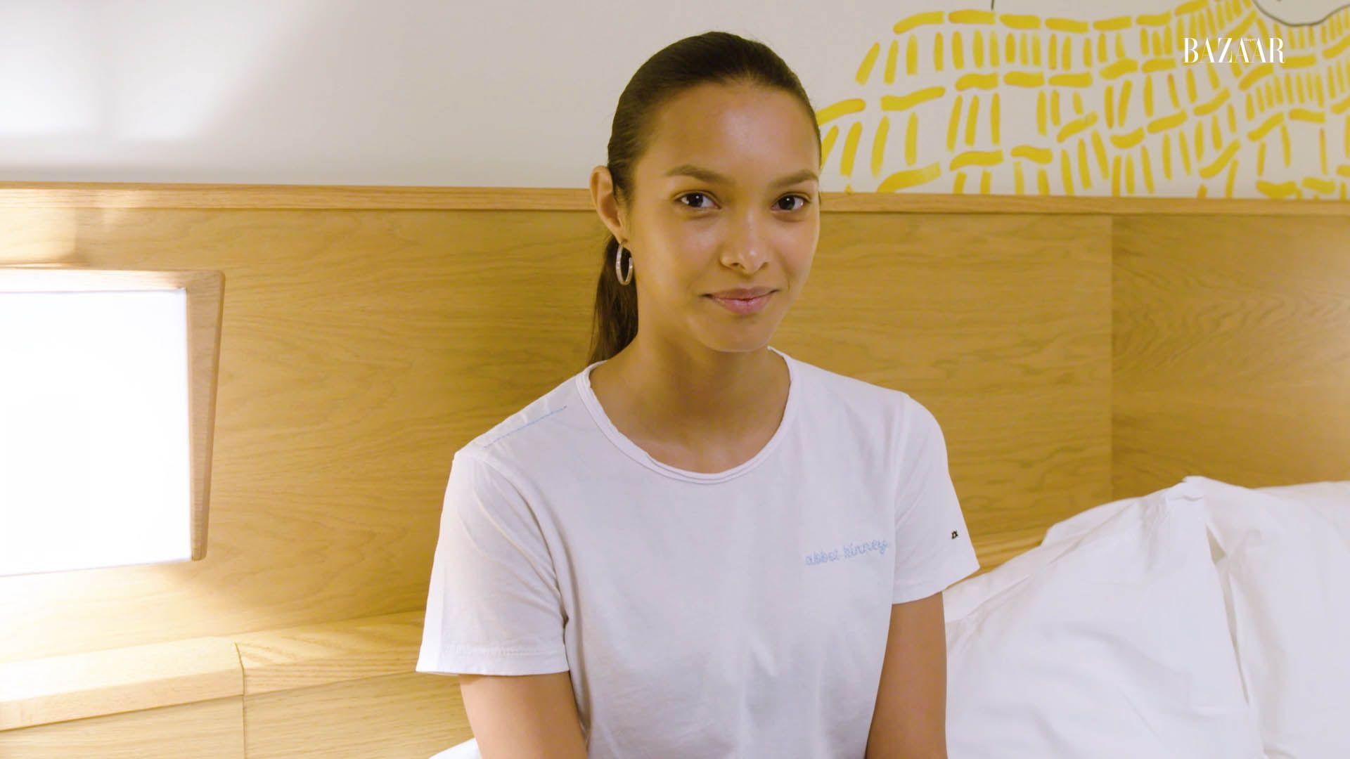 Watch Model Lais Ribeiro's Nighttime Skincare Routine