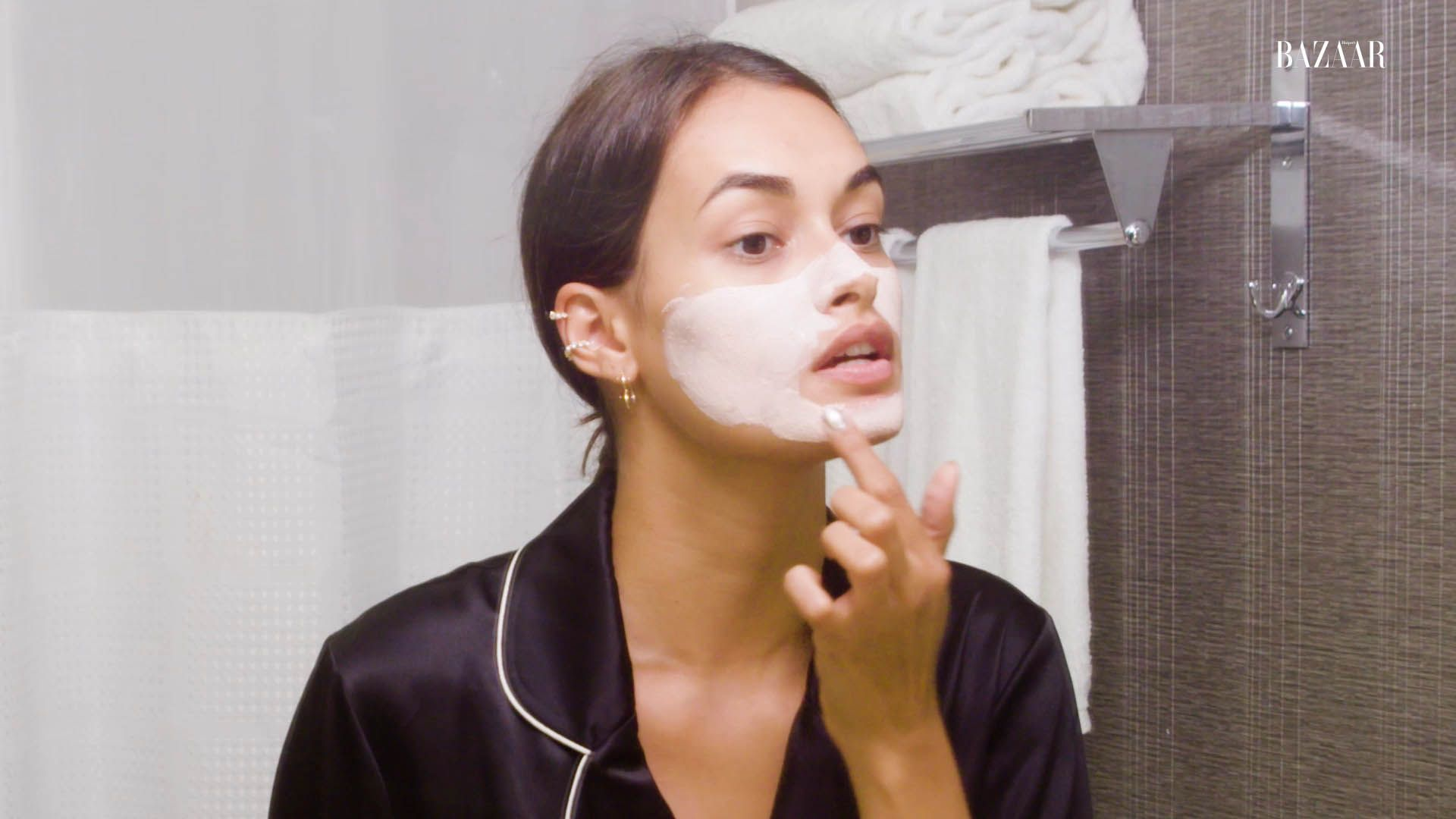 Watch Gizele Oliveira Share Her Nightly Skin Care Routine