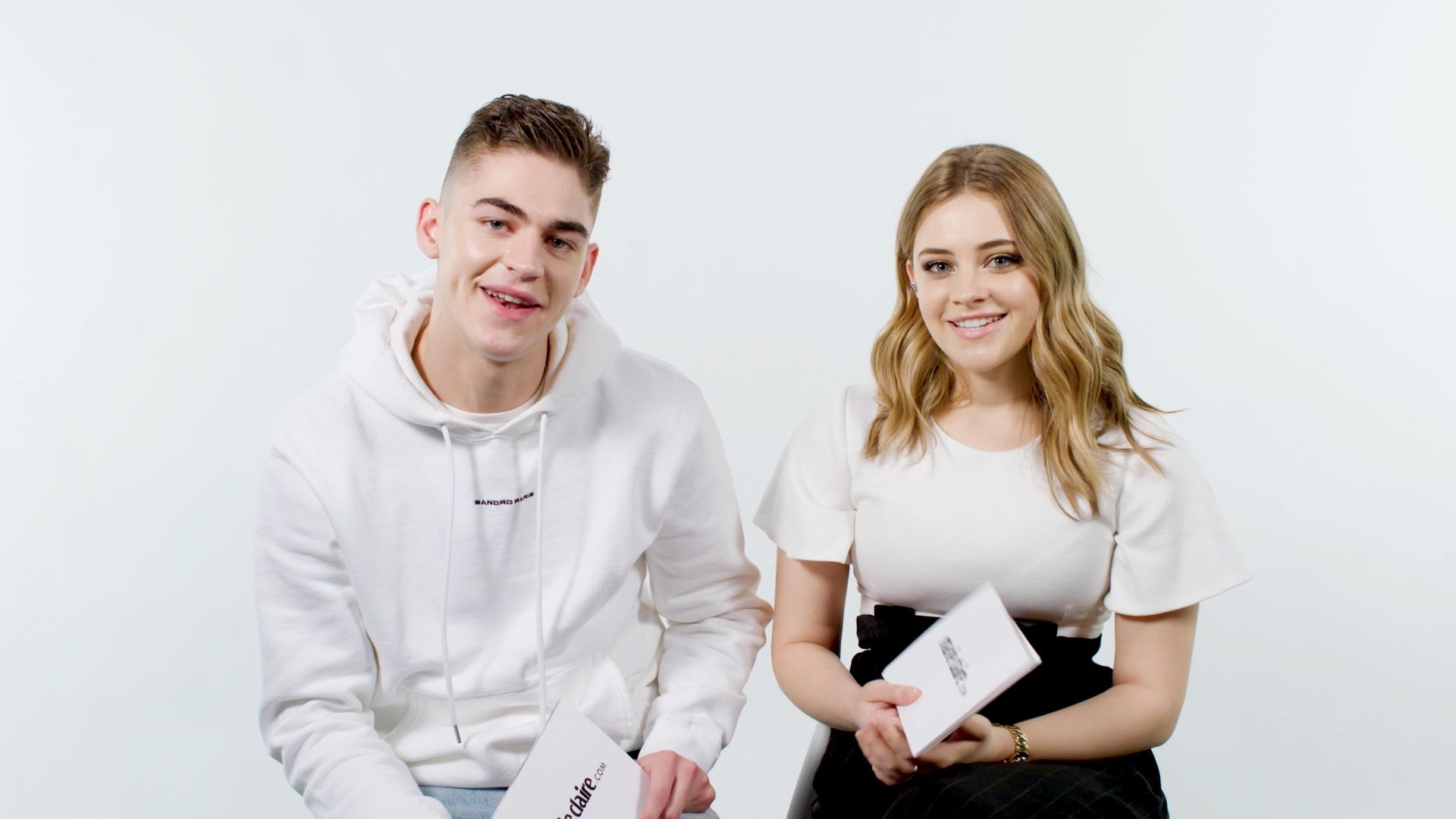 Are After Co Stars Hero Fiennes Tiffin And Josephine Langford Friends In Real Life