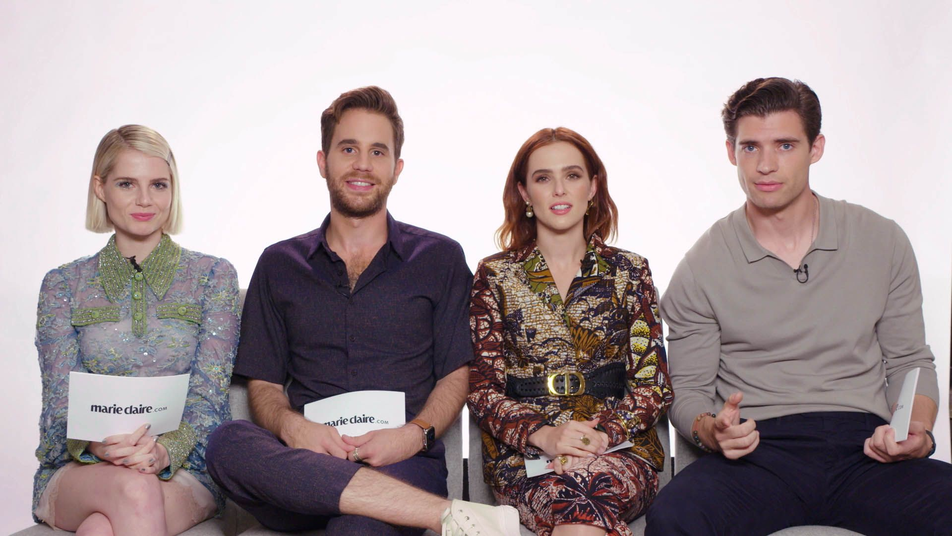The Cast of 'The Politican' Plays 'How Well Do You Know Your Co-Star?'
