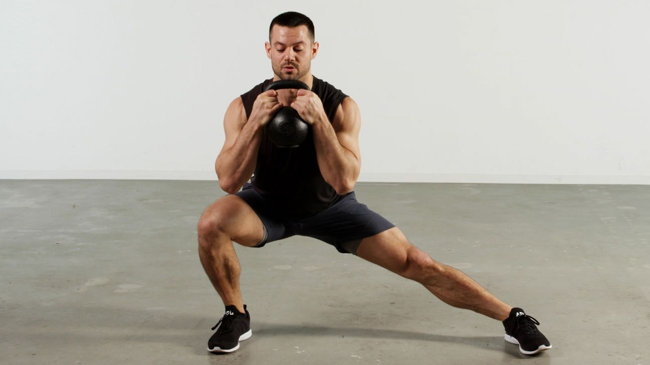 This Lightspeed Kettlebell Burner Workout Will Torch Your Whole Body