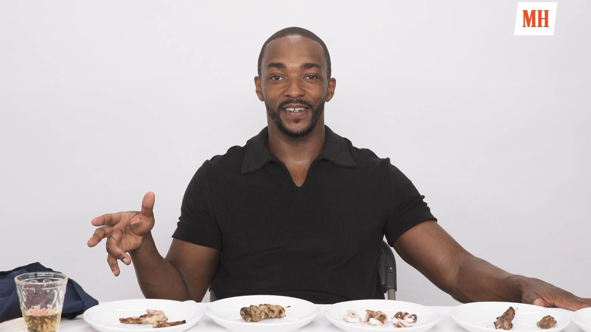 Anthony Mackie Must Eat Worms or Tell Us About the Captain America Sequels