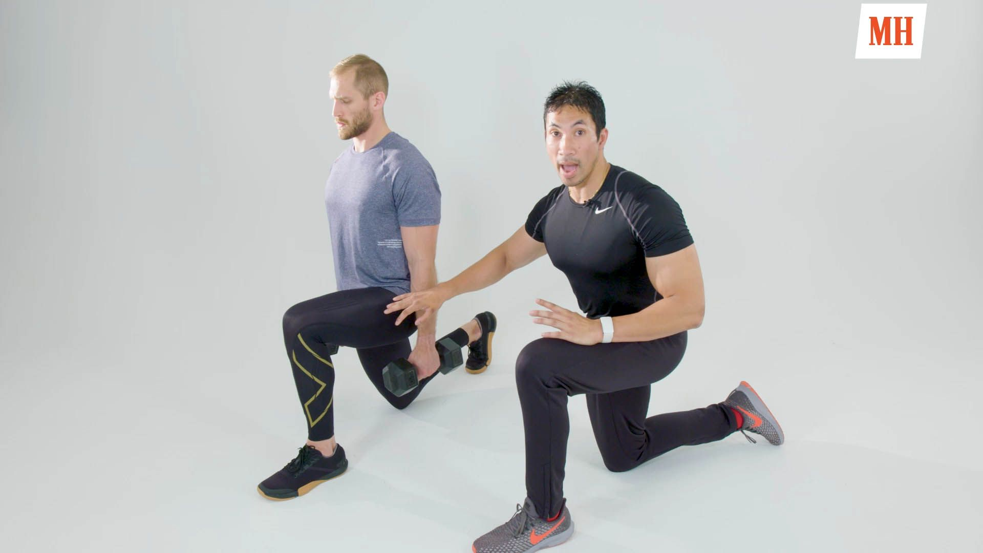 How to Do a Lunge the Right Way