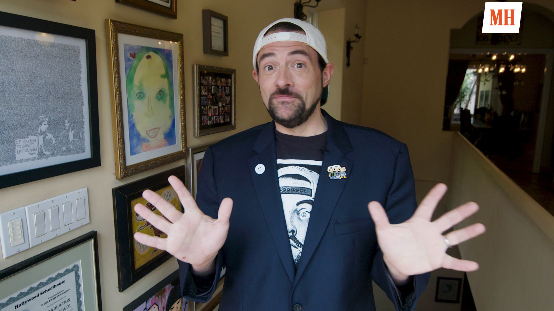 Kevin Smith Reveals How He Lost 50 Pounds After a Heart Attack And Is Staying Lean