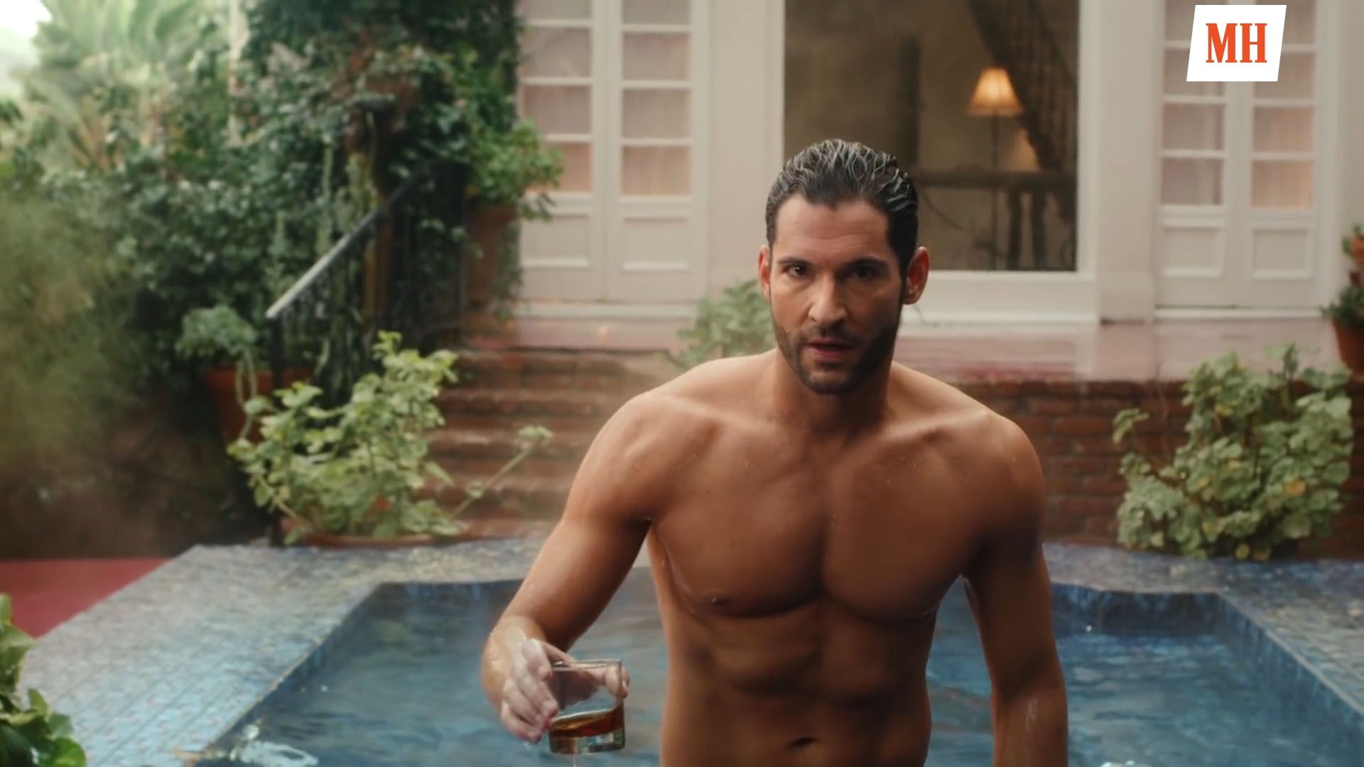 This Devilish Lucifer Workout Helped Tom Ellis Get Ripped