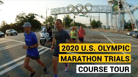 preview for 2020 U.S. Olympic Marathon Trials: Course Tour