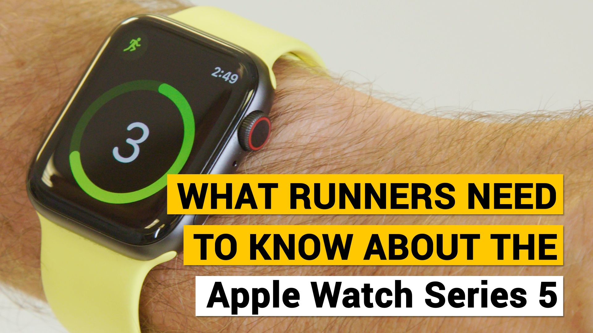 What Runners Need to Know About the Apple Watch Series 5