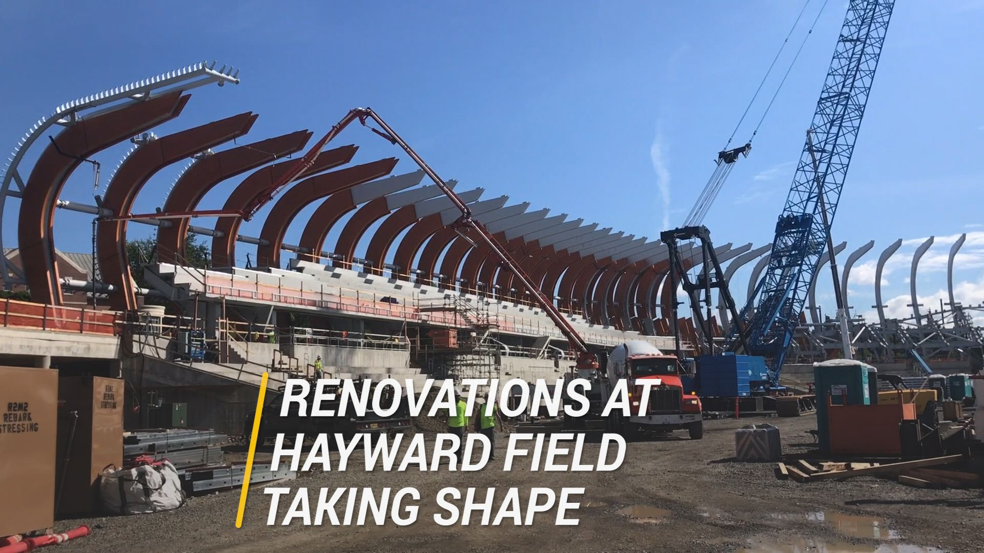 New Hayward Field Takes Shape