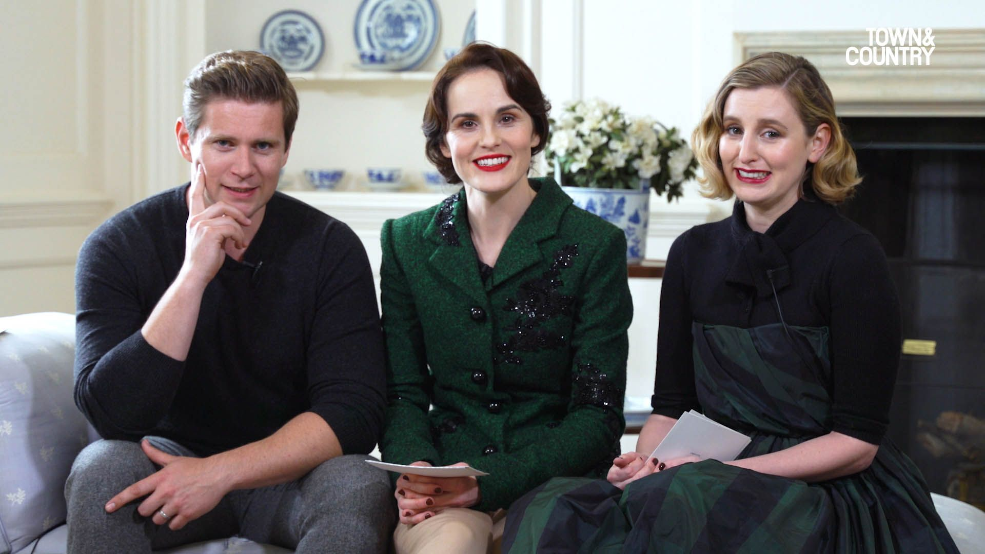 Watch the Stars of Downton Abbey Reveal the Plot of the New Movie, But in American Accents