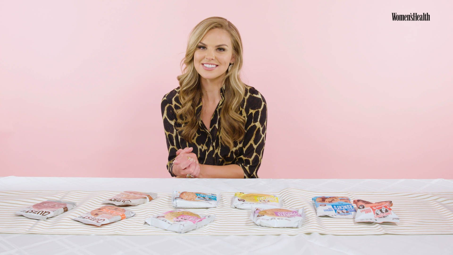 Watch 'Dancing With The Stars' Contestant Hannah Brown Taste-Test Protein Cookies