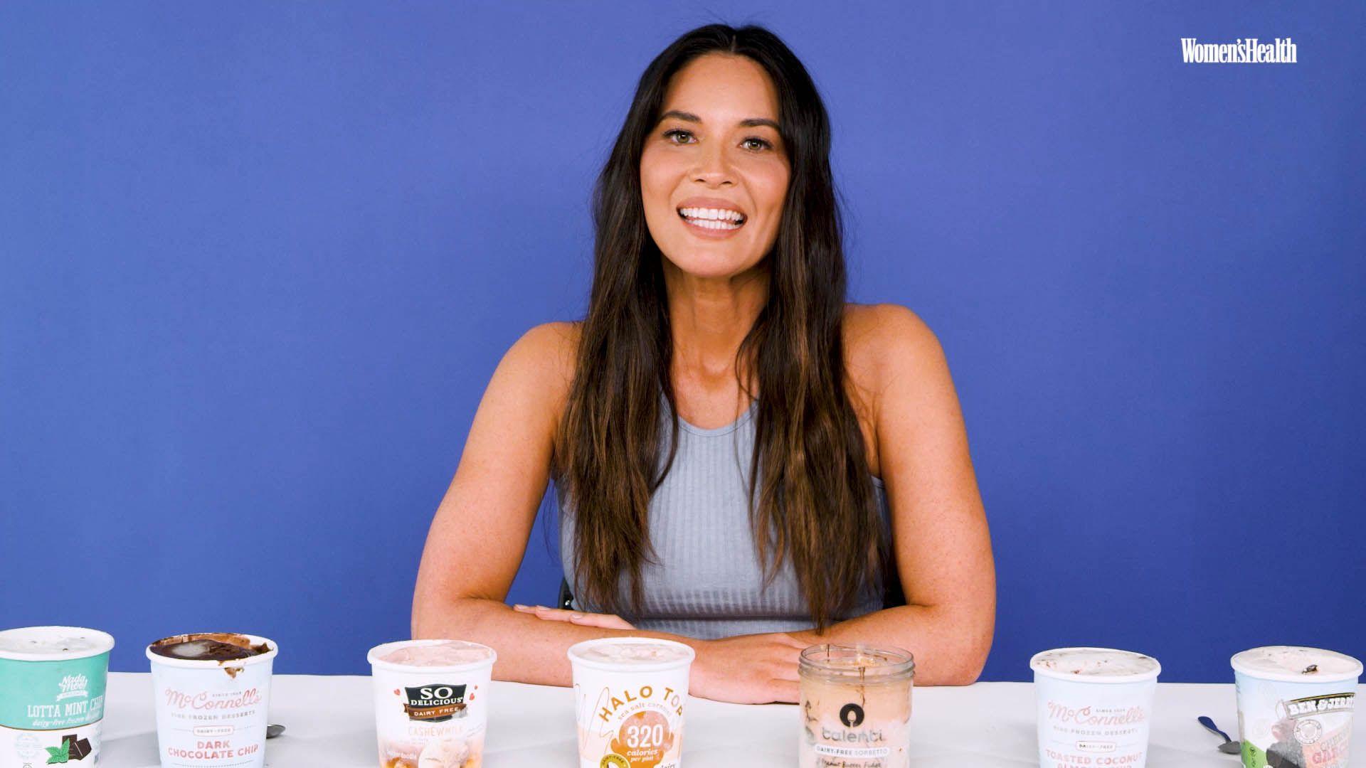 Watch Actress Olivia Munn Taste-Test Vegan Ice Creams