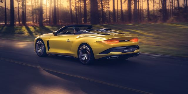 Bentley Bacalar: Confirmado un GT de lujo biplaza