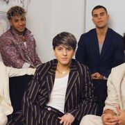 the members of cnco sit together