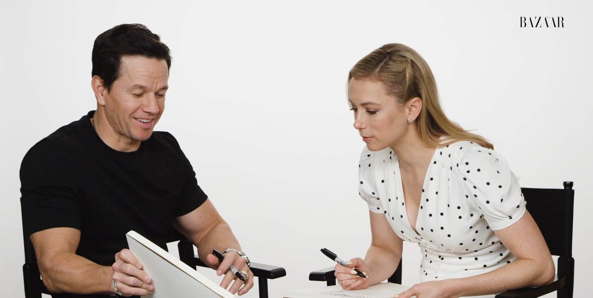 Mark Wahlberg Iliza Shlesinger Of Spenser Confidential Sketch Each Other