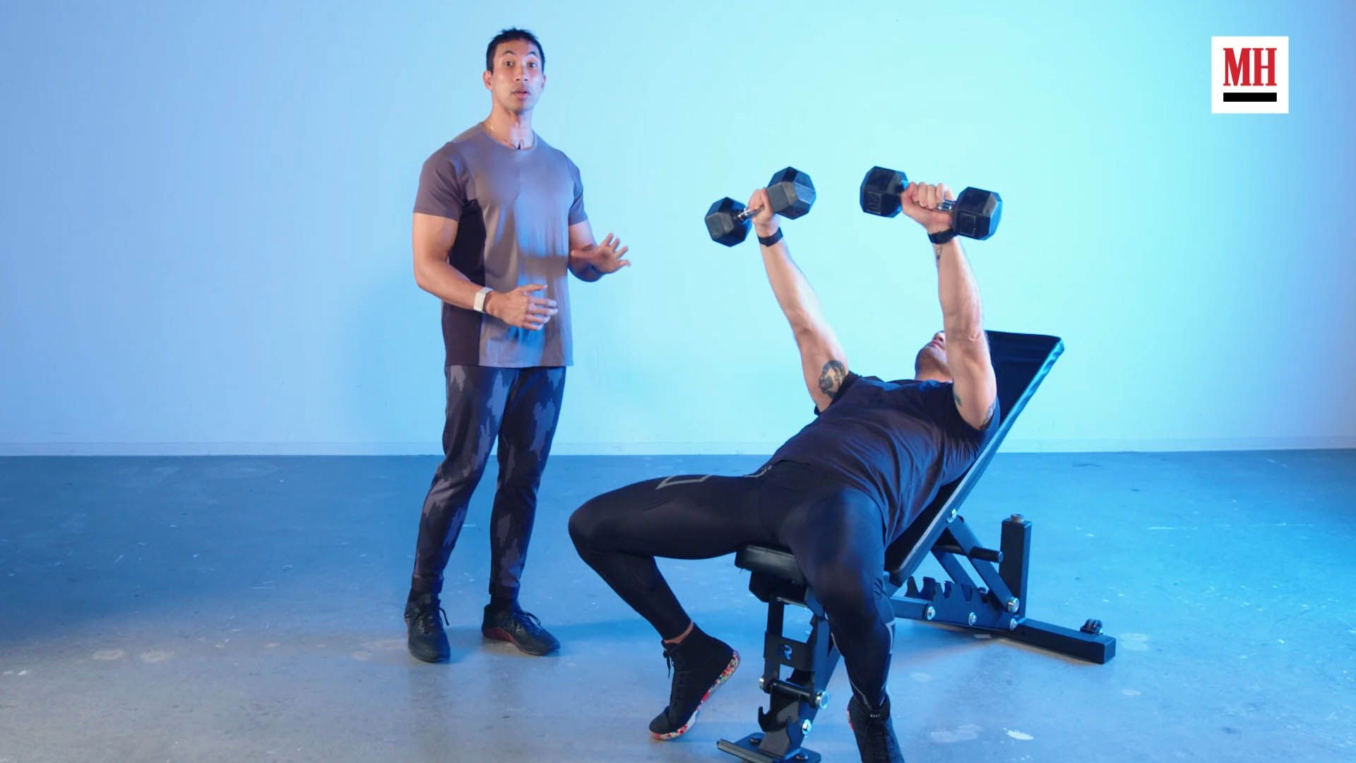 How to Do the Dumbbell Incline Press