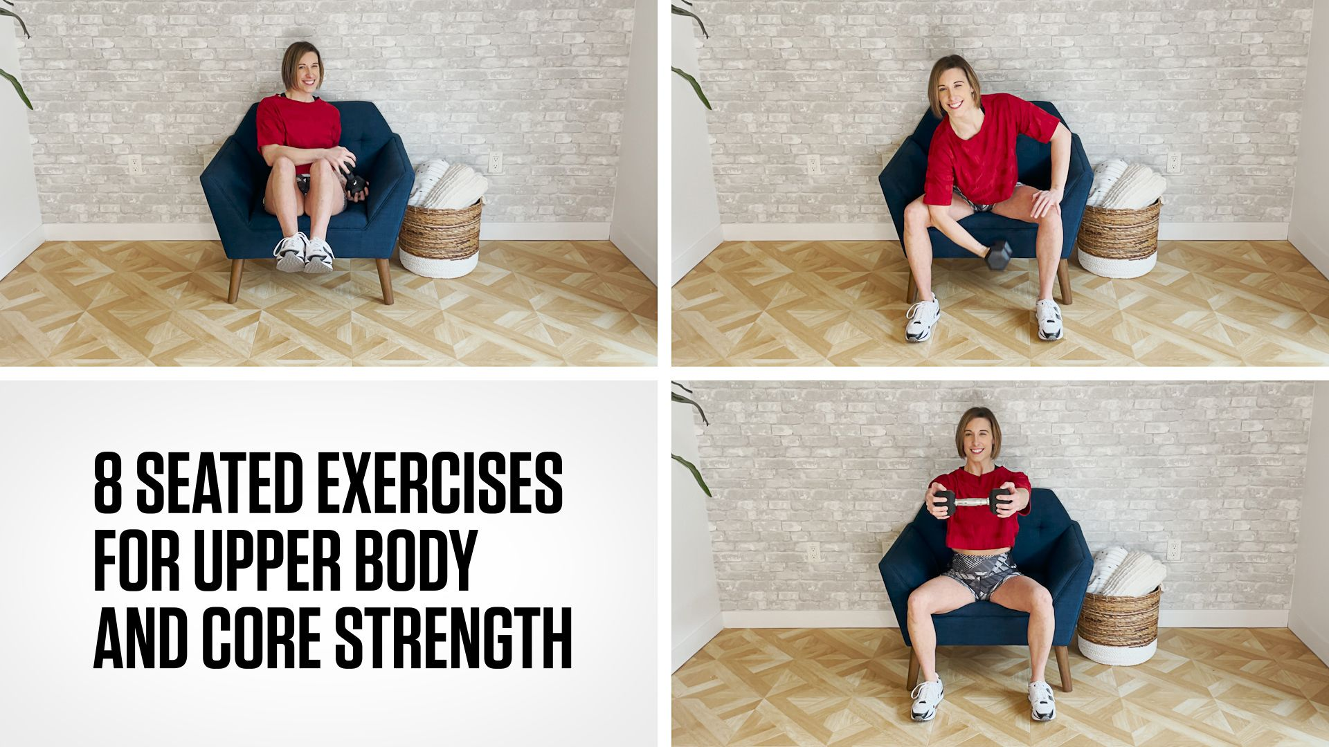 8 Sitting Exercises to Build Upper-Body and Core Strength