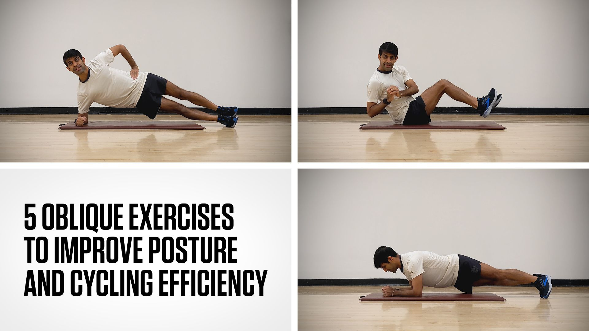 5 Oblique Exercises to Improve Your Posture and Running Efficiency