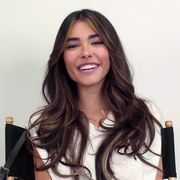 madison beer smiles into the camera