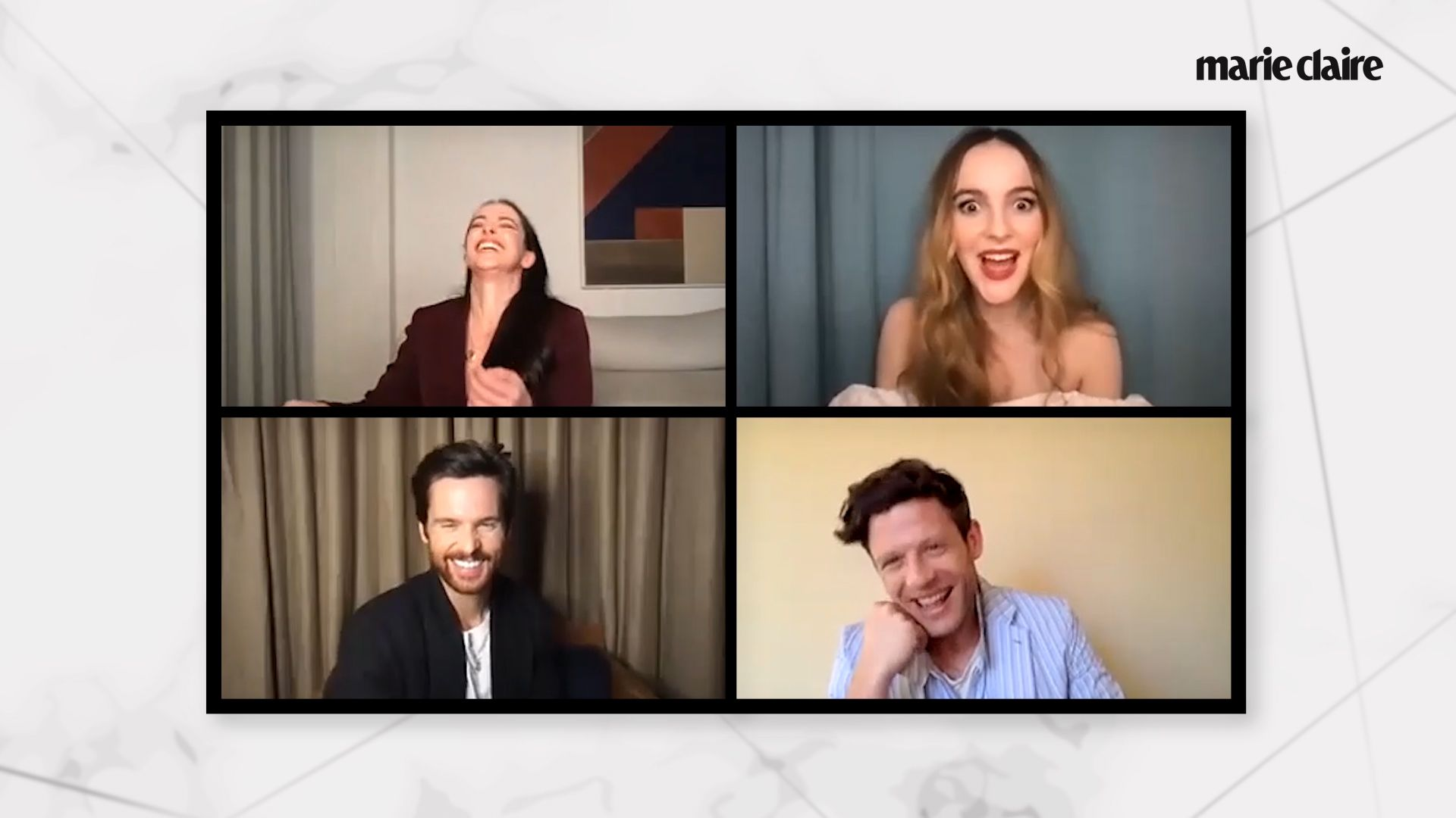The Cast of 'The Nevers' Plays 'How Well Do You Know Your Co-Star?'