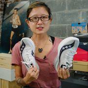 test editor amanda furrer on shoe size