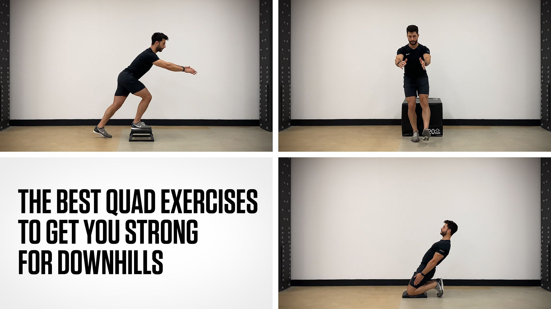 The Best Quad Exercises for Runners to Conquer Downhills