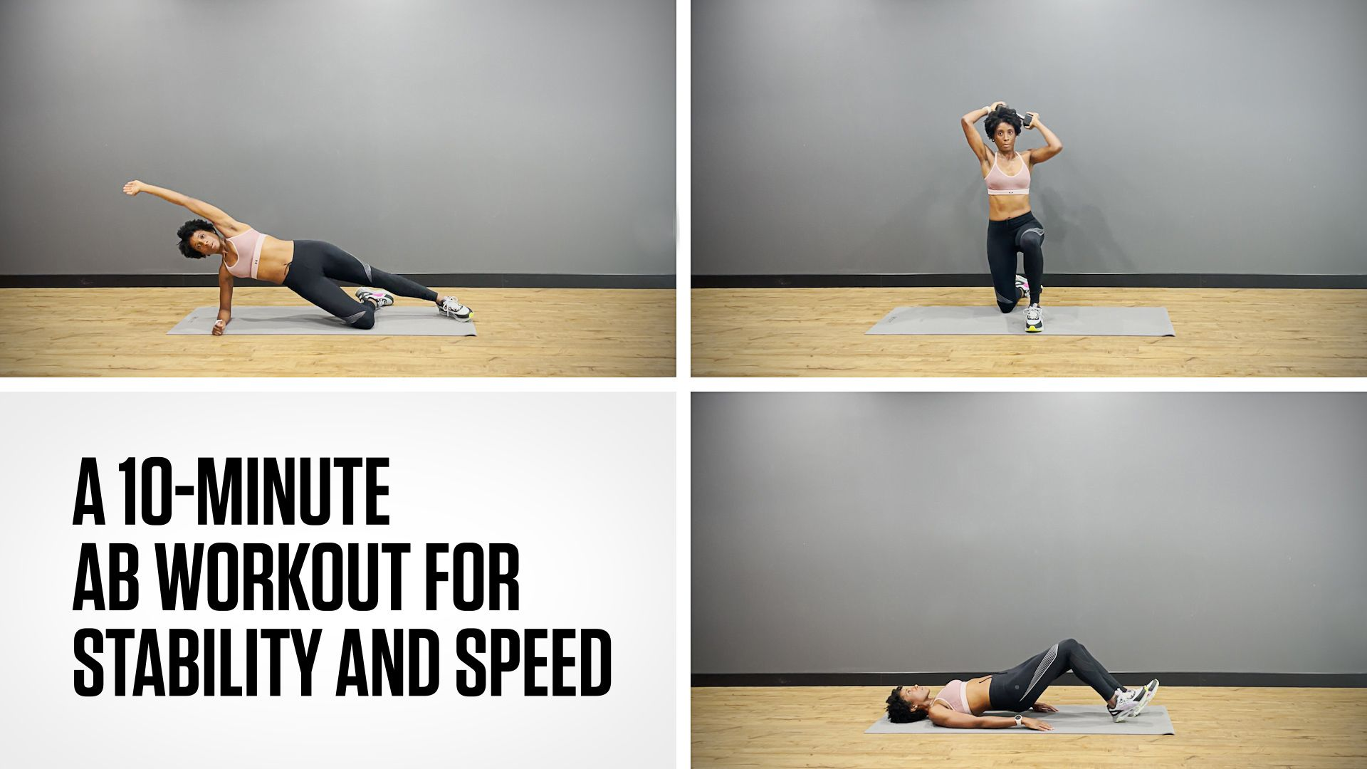 A 10-Minute Abs Workout for Stability and Speed