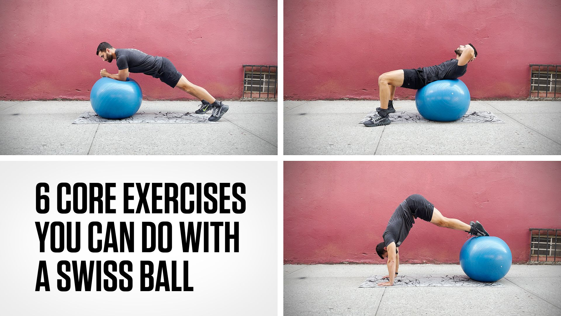 How to Do a Swiss Ball Crunch—and 5 Other Moves You Can Do With This Piece of Equipment