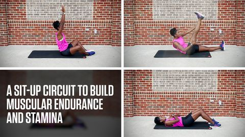 preview for A Sit-Up Circuit to Build Muscular Endurance and Stamina