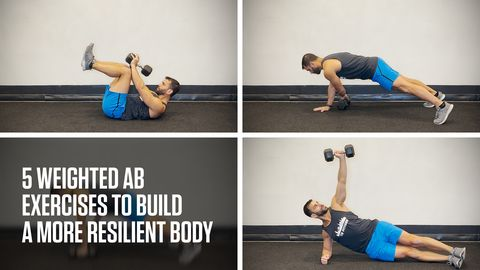 preview for 5 Weighted Ab Exercises to Build a More Resilient Body
