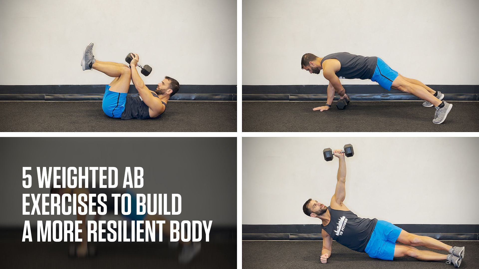 5 Weighted Ab Exercises to Build a More Resilient Body
