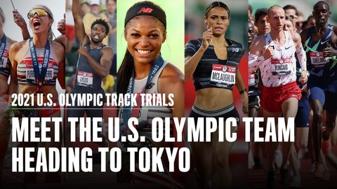 preview for Meet the Members of the U.S. Olympic Track and Field Team