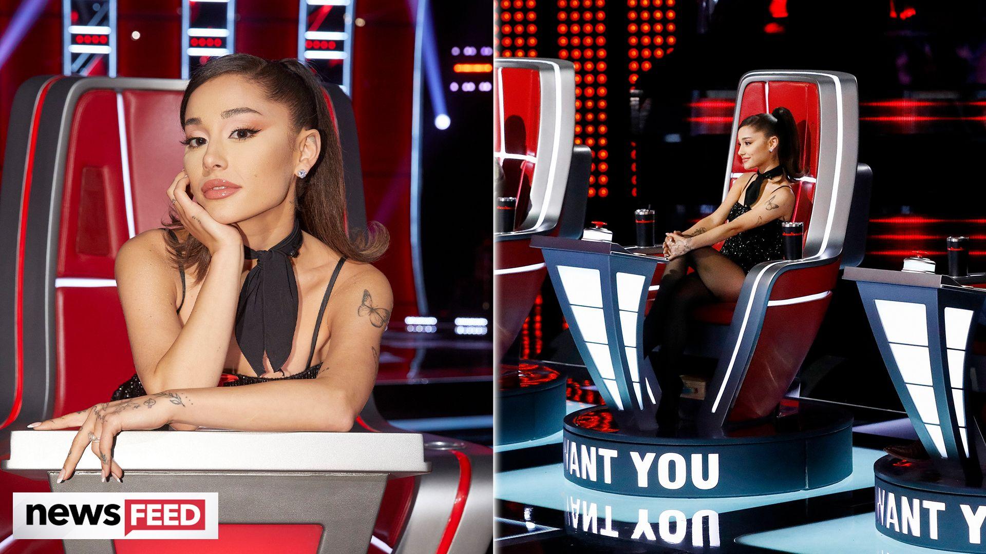 "Ariana Grande Has ""Broken Every Rule"" in Her 'Voice' Contract"
