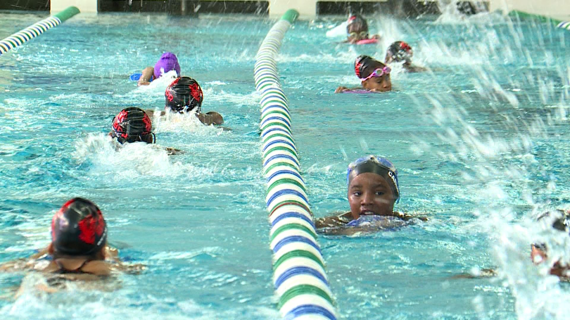 Summer Olympics inspires Birmingham's youth swimmers