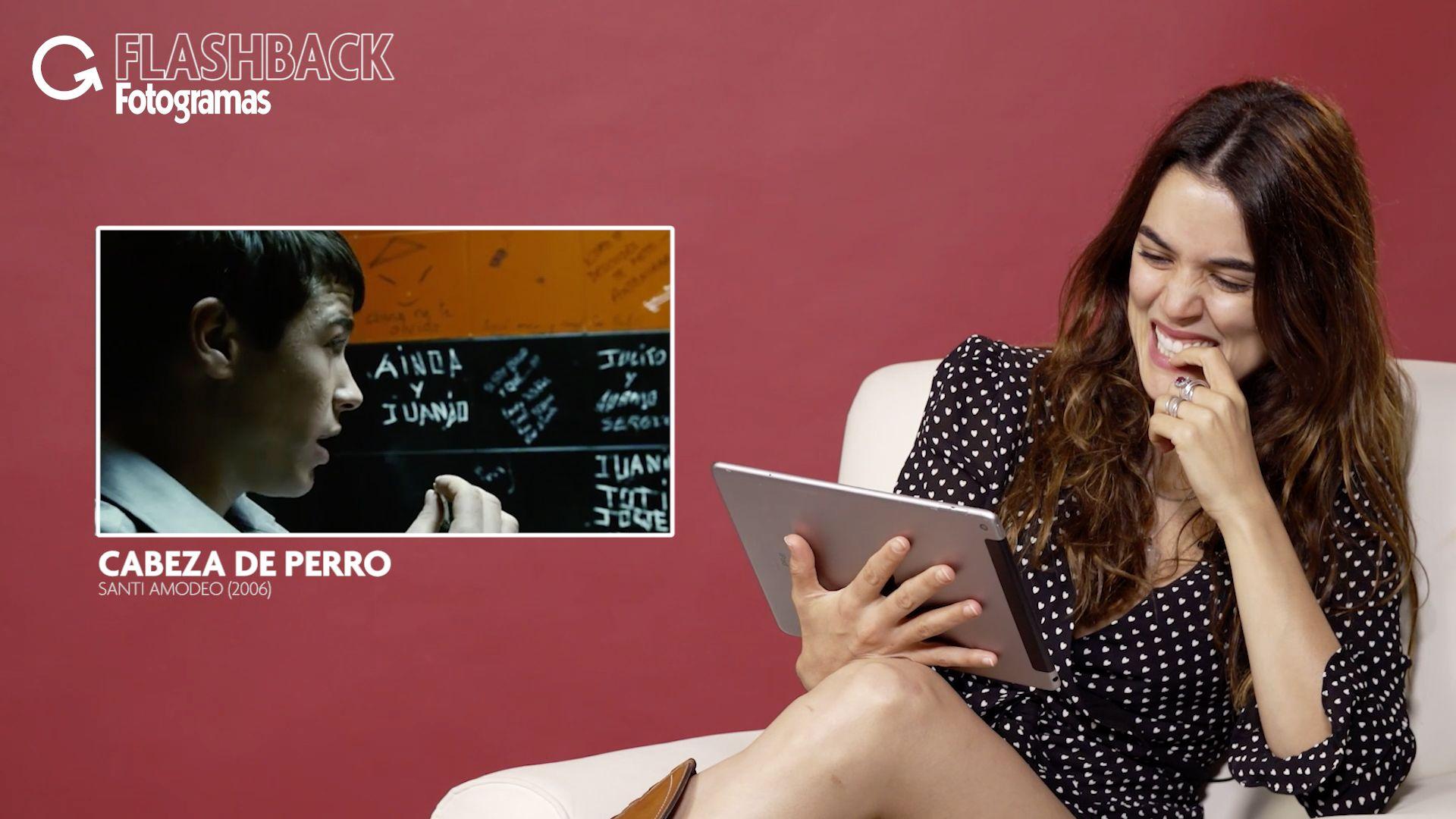Adriana Ugarte Castillos De Carton flashback fotogramas: adriana ugarte recuerda sus inicios