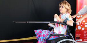 Agatha Ruiz de la Prada, diseñadora, famosa en silla de ruedas, barreras arquitectónicas,