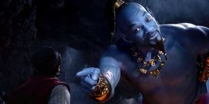 Will Smith as Genie, Aladdin trailer