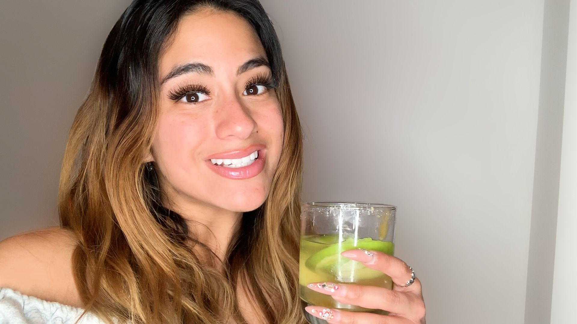 Ditch Your Basic Margarita for Ally Brooke's Apple and Tequila Concoction