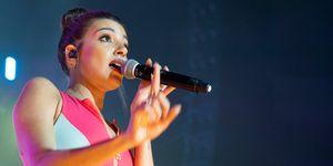 Ana Guerra en el concierto solidario de Cadena 100