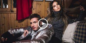 Ana Mena y Omar Montes, cantantes, videoclip de Omar Montes, Como el agua de Omar, Videoclip de Como el agua