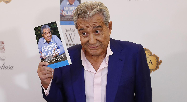 Andrés Pajares, sorprendido con el gran recibimiento que ha tenido su libro