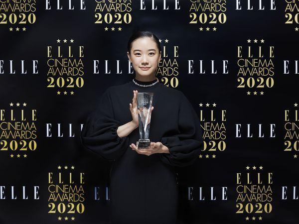 蒼井優が「エル ベストアクトレス賞」を受賞!【ELLE CINEMA AWARDS 2020】